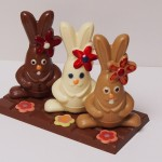 Lapins en chocolat