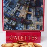 Boite de Galettes bretonnes illustrée par Alain Coadou